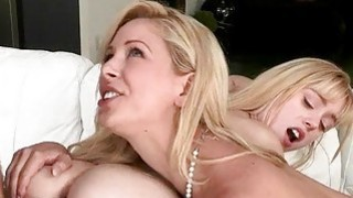 Lucy_Tyler_and_Cherie_Deville_3some_session_in_bed Preview Image