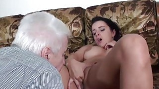 MAGMA FILM Busty Hot Teens teasing Grandpa Preview Image
