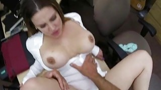 Big tits business lady fucked by pawnman Preview Image