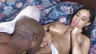 Horny Little Nurs enjoying a Huge_eBONY cOCK Preview Image
