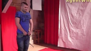 First casting blowjob for horny czech amateur guy Preview Image