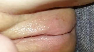 Using Dildo on Creamy Teen Pussy Preview Image