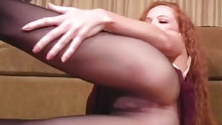Frisky chick exposes butt upskirt cunt lips Preview Image