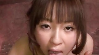 Hitomi Fujihara blows cock in harsh manners Preview Image
