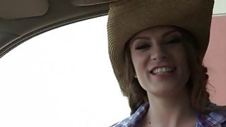 Busty stranded teen cowgirl banged in a trunk Preview Image