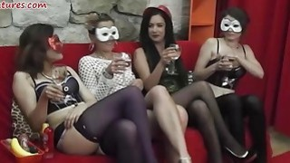Ladies party turns into wild lesbian orgy Preview Image