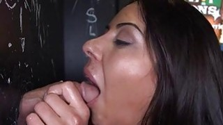 Babe loves to have a large cock inside her throat Preview Image