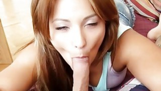 Naughty GF tries out anal sex with nasty dude on tape Preview Image