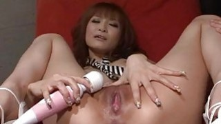 Misa Kikouden loves cracking her pussy in harsh ways Preview Image