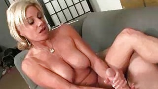 Horny Neighbor Wants Poor Guys Cumshot So Badly Preview Image
