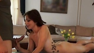 Beauty is bestowing racy blow job ramrod riding Preview Image