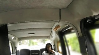 Sexy Ebony babe pounded by horny driver in the backseat Preview Image