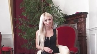 Big boobs amateur blonde Czech babe fucked for money Preview Image