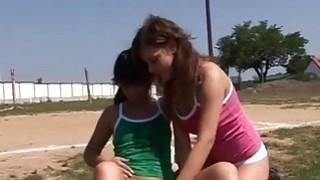 Hot teen girl speedo modeling movie Sporty teenagers gobbling each Preview Image