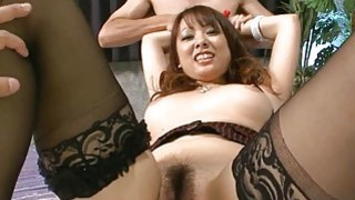 Oriental darling acquires banging for her twat Preview Image
