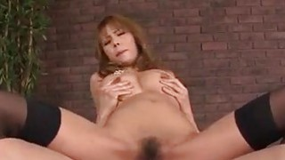 Insolent porn video with big tits milf Haruka Sanada Preview Image