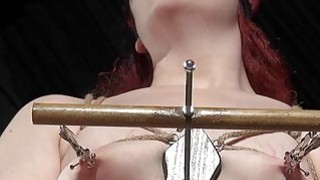 Extreme Femdom with_bizarre breasts bondage Preview Image