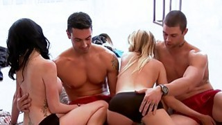 Singles erotic game in Foursome mansion Preview Image