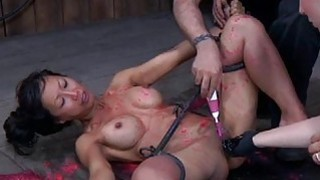 Charming babes nipps receives painful torturing Preview Image