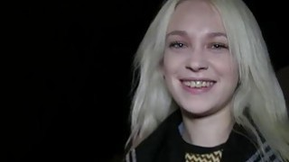 Blonde Russian gets public bang Preview Image