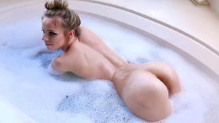 Jillian Janson teasing and taunting him with her bountiful booty Preview Image