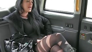 Local escort in pantyhose gets_rammed by pervert driver Preview Image