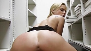 Sexy office babe pounded in pov style Preview Image