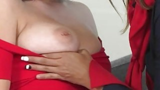 Cute Crystal Rae and milf Bobbi Rydell make out on_the couch Preview Image