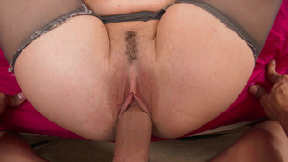 Molly Jane gets her_pink, trimmed pussy filled with wide cock Preview Image