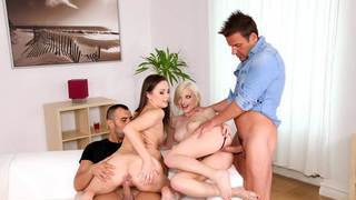 Banging hot EU_chicks got their pussies pounded Preview Image