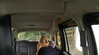 Huge boobs amateur blonde passenger fucked by driver Preview Image