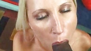Big Tit Blonde Fucked by Dark Black Cock Preview Image