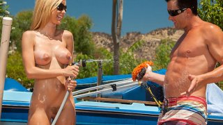 Anal Car Wash Angels Scene 1 Preview Image