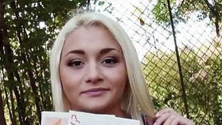 Czech babe Alive Bell pounded for cash Preview Image