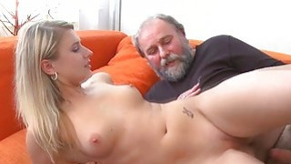 Young chick acquires banged from behind by old guy Preview Image