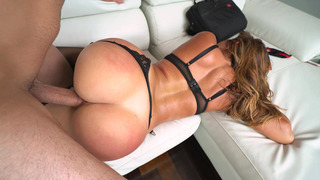 Big ass tart Julianna Vega getting her juicy cunt stuffed with fat cock Preview Image