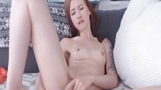 Petite Webcam Babe Enjoy Dildo Fucking Preview Image