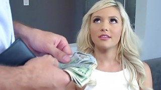 Blonde Kylie fuck by Keiran for money and made her pussy wet Preview Image