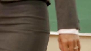 Dana Vespoli fingers and toys the holes of a blonde schoolgirl Preview Image
