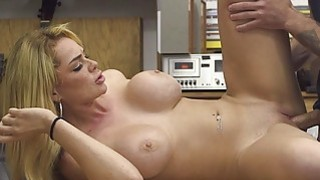 Busty babe convinced_to fuck pawn keeper Preview Image