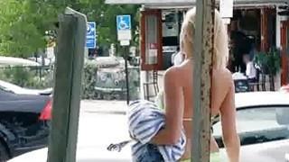 Titty bikini babe caught fingering Preview Image