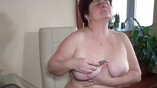 OldNanny granny fucked deeply with huge toy Preview Image