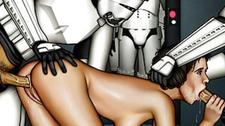 Awesome cartoon: Star wars cartoon porn parody Preview Image