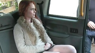 Red haired babe gets her pussy pounded by nasty driver Preview Image