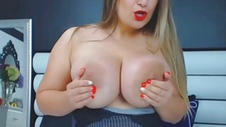Babe With Big Tits Ass And Nipples Masturbates Preview Image