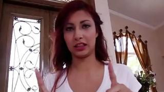 Flexible Latina teen_Jade_Jantzen deepthroats a monster cock Preview Image