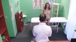 Redhead Euro student_fucks doctor in fake_hospital Preview Image