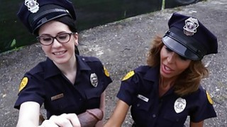 Lyla Lali and Norah Gold Take BBC on Patrol Car Preview Image