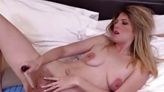 Small titted mature masturbating with dildo Preview Image