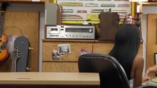 Ebony_babe_Brittney_White_takes_a_big_cock_in_the_office Preview Image
